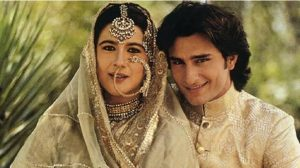 saif ali khan with his first wife