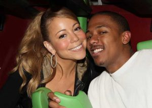 Mariah Carey with her second husband